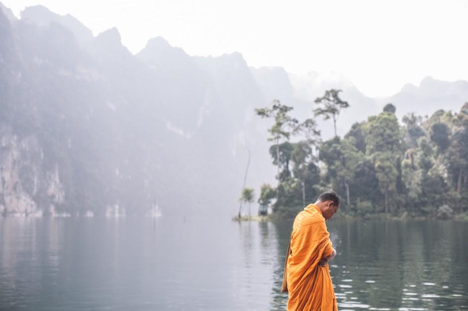 Monk in Thailand